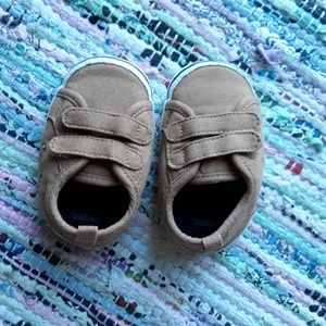 Brown Baby shoes Velcro